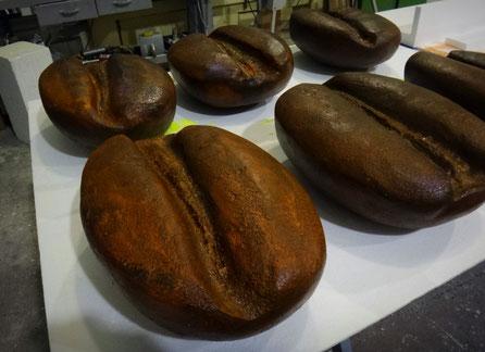 Granos de Café Gigantes (50 cm) como reclamos