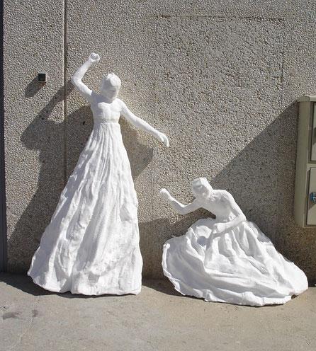Ampliación de Figuras del escultor José Cobo