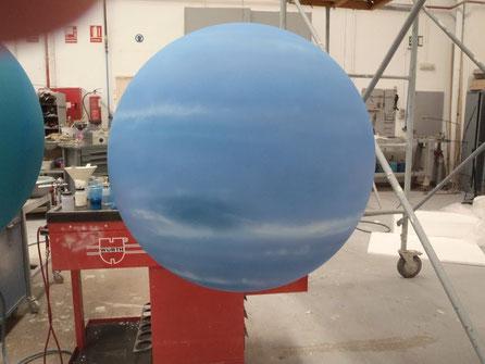 Esfera Planeta Gaseoso, para discoteca