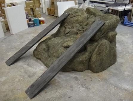 Roca para exhibir Todoterrenos