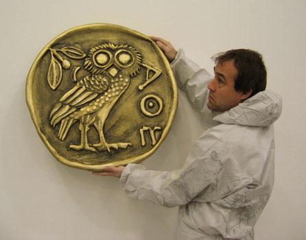 Moneda Gigante Griega, para Teatro