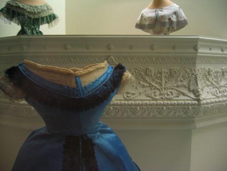 Palco Real recreacion, para Vitrina del Museo del Traje