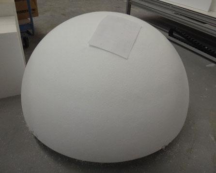 Media Esfera de 110 cm diametro