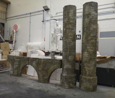 Columnas , Arcos