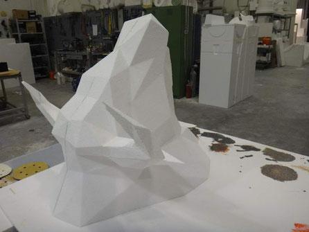 Cabeza de Toro, interpretación poligonal