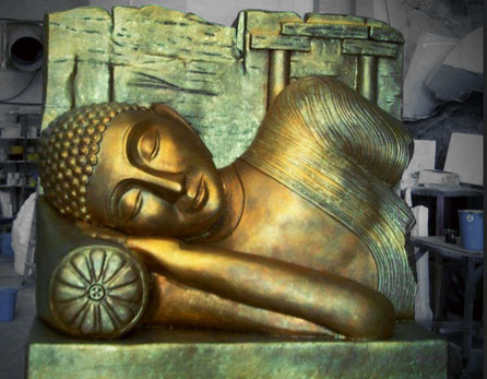 Buda Sri Lanka 240 cm