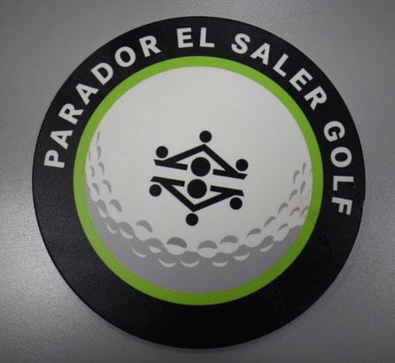 Logo 5 mm espesor, 20 cm de diametro