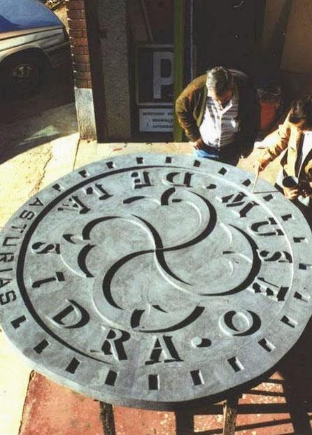 Cartel de Fachada para el Museo de la Sidra, Asturias