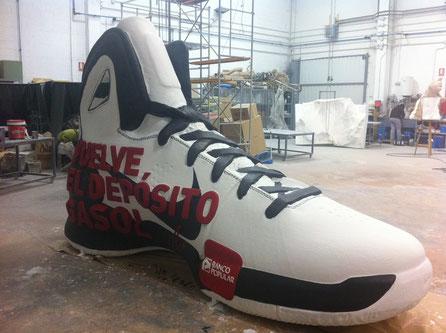Zapatilla Nike, Reclamo publicitario