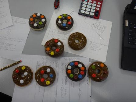 Donuts decorados