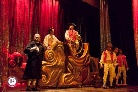 Barco - Carra para la Sirenita (Musical)
