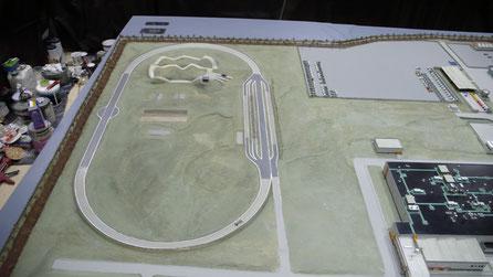 Restauración Maqueta Ciudad Pegaso para  IVECO