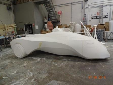 Mecanizado de un Prototipo Futurista