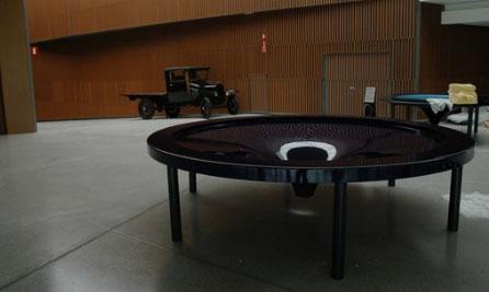 Maquina simulador de Agujero Negro, Museo de Ciencias, Granada.
