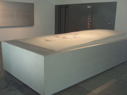 Maqueta del Yacimiento de Baelo Claudia, Museo Romano de Baelo