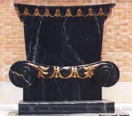 Trono imitación mármol