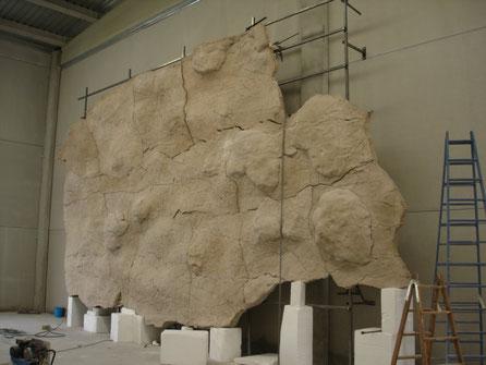 Paneles del Techo Polícromo - Réplica de Altamira