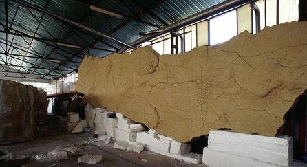 Réplica de Altamira, Construcción de una sección de la NeoCueva en nuestras insstalaciones.