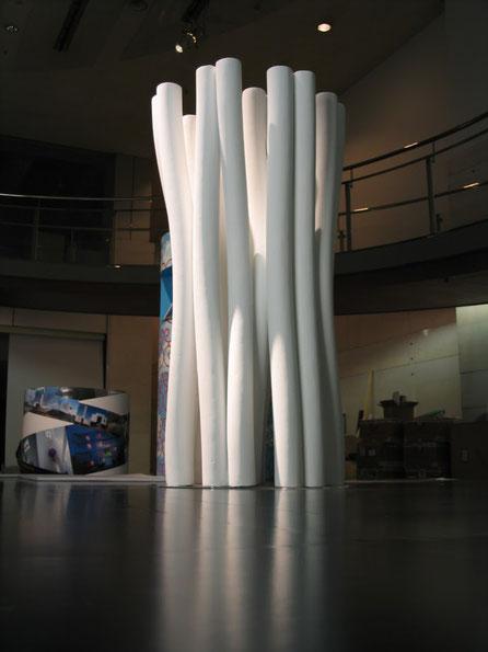 Exposición Arquitectura en Aichi Japón , para el arquitecto Alejandro Zaera