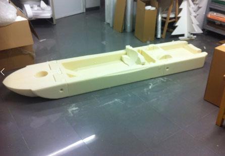 Prototipo de Piragua Modulable