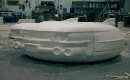 Modelo de un Coche, para pelicula Planet 51 (Promocional)