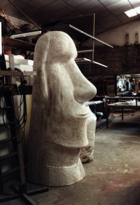 Moai, Tótem de la Isla de Pascua
