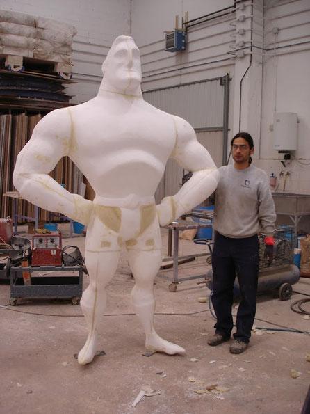 Personaje Comic 240 cm altura