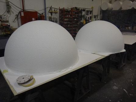 Semi Esferas Gigante 1,20 m diametro