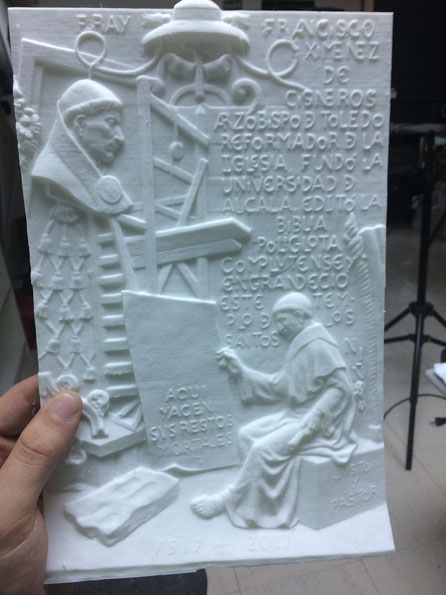Relieve, modelo de fundición