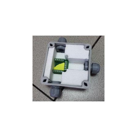 Piezas de relleno a medida. Para encapsular circuitos electrónicos en caja estanca con resina.