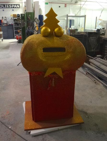 Buzón Cartas a los Reyes Magos, fabricación de tu diseño