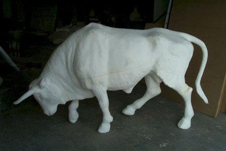 Toro, Escultura.