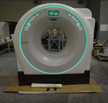 Ficticio de TAC (Tomografía Axial Computerizada) , para exposición en stand Ferial IFEMA