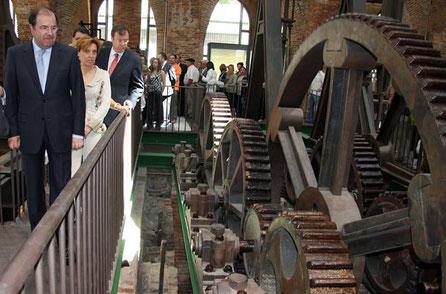 Museo de Sabero. Maquina de vapor de Watt > enlace a Museo de Sabero