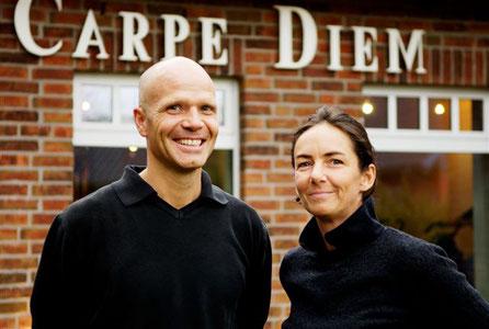 Mario und Simone Poppe - Carpe Diem - Prerow - Bio-Hotel