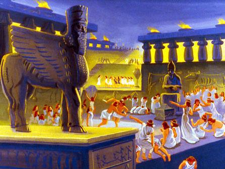 Au VIIIème siècle av J-C, la ville de Ninive est une cité-Etat d'Assyrie, dans le nord de la Mésopotamie, tellement immense qu'il faut 3 jours pour en faire le tour !  Cette ville est très certainement remplie d'idolâtrie, d'immoralité et de criminalité !