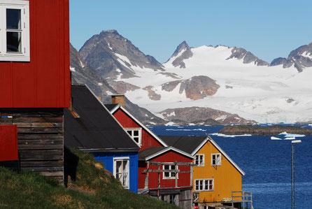 Grönland und Norwegen