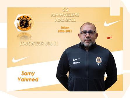 CS Mainvilliers Football Samy Yahmed
