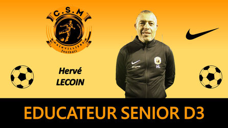 Hervé Lecoin CS Mainvilliers Football
