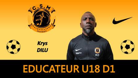 Krys Dilu U17 CS Mainvilliers Football