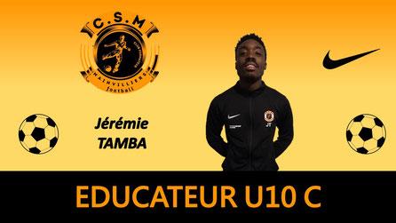 Jérémie U10 C éducateur CSM
