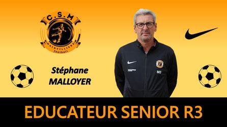 Stéphane Malloyer CS Mainvilliers Football