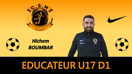 Hichem Boumbar U17 CS Mainvilliers Football