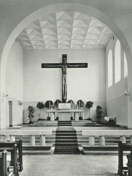 Altarraum vor dem Konzil