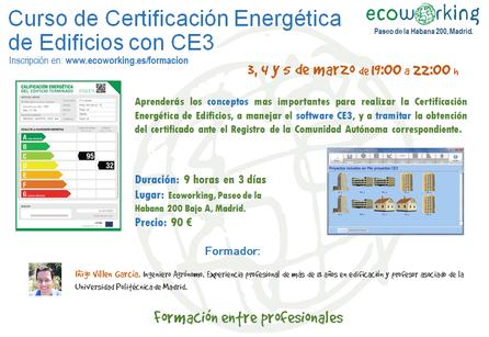 Certificación eficiencia energética