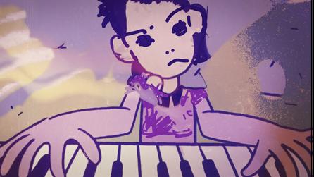 Screenhsot aus Piano Girl - über Beethoven & Zombies von Ulrike Filgers