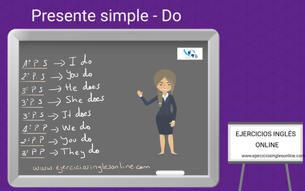 Presente simple en inglés - conjugación - Verbo Do