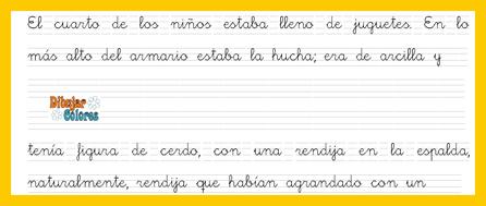 parte dos caligrafía