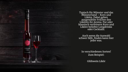 Glühwein Likör von der Genuss Hütte aus Saerbeck. Glühwein Likör mit winterlichen Aroma von Vanille, Nelken, Zimt & Sternanis.