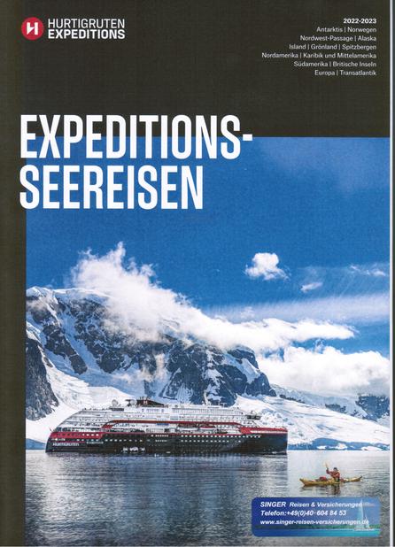 Hurtigruten Katalog bei Singer Reisen & Versicherungen kostenfrei bestellen...